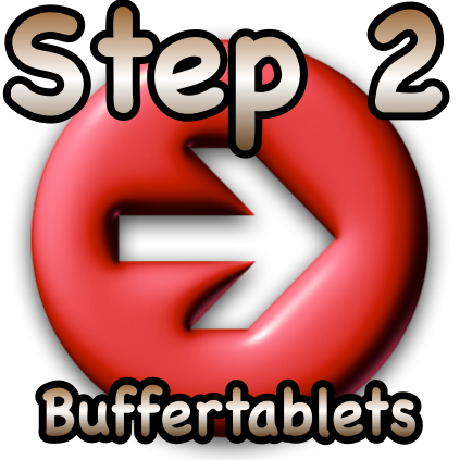 Step 2 buffertablets