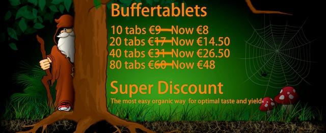 buffertablet discount