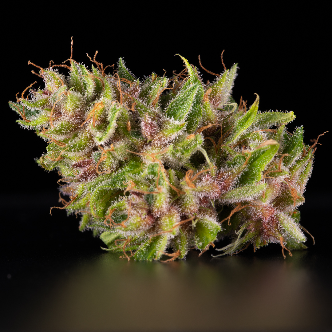 Pink coloured bud ready to harvest