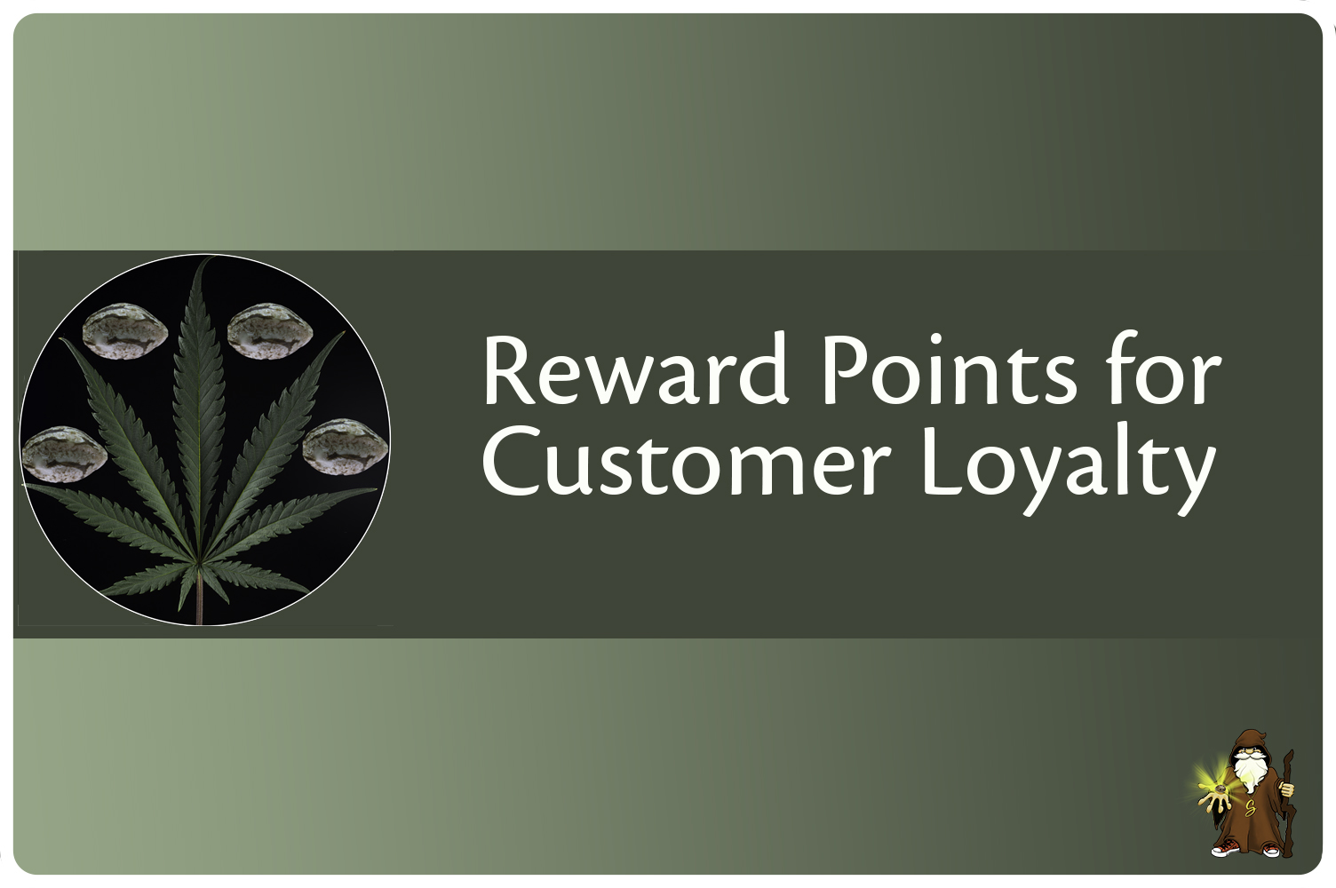 Reward points to earn with every product