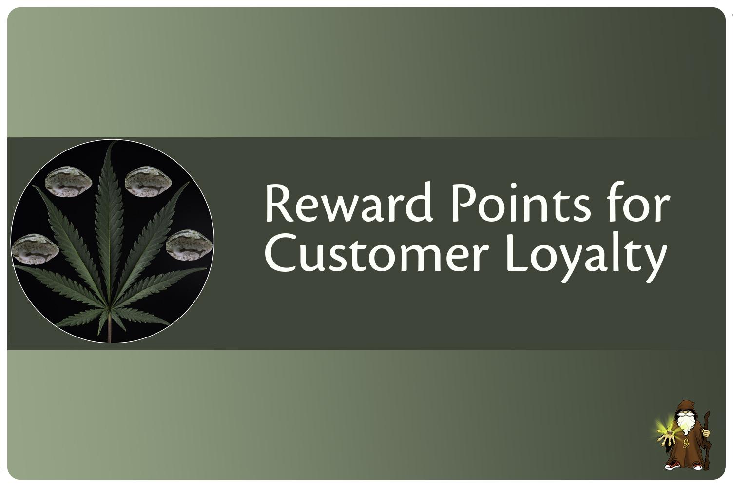 Reward points om gratis producten aan te schaffen